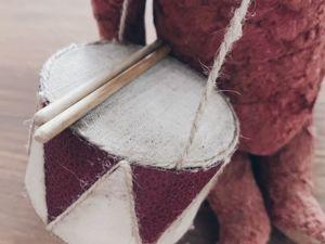 Барабан для кукол и мишек. Ярмарка Мастеров - ручная работа, handmade.