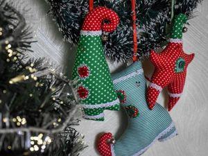 Шьем текстильные игрушки на елку, или Магия новогодних украшений. Ярмарка Мастеров - ручная работа, handmade.