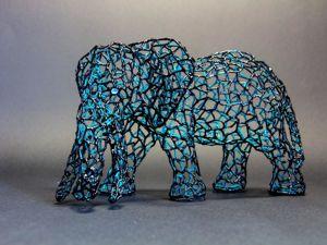 Создаем статуэтку «Космический слон». Ярмарка Мастеров - ручная работа, handmade.