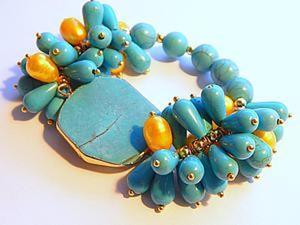 Собираем оригинальный браслет-гроздь. Ярмарка Мастеров - ручная работа, handmade.