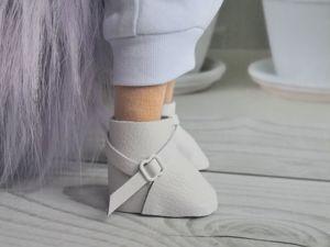 Изготавливаем сапожки для кукол. Ярмарка Мастеров - ручная работа, handmade.