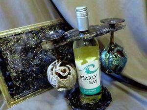 Подарок на 8 Марта своими руками: делаем набор для вина. Ярмарка Мастеров - ручная работа, handmade.