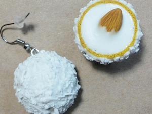 Лепим конфеты «Рафаэлло» из полимерной глины: видеоурок. Ярмарка Мастеров - ручная работа, handmade.