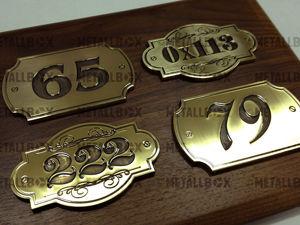 Выбор номера на дверь — виды и типы продукции METALLBOX. Ярмарка Мастеров - ручная работа, handmade.