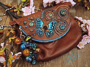 Декорируем сумочку к весенне-летнему сезону. Ярмарка Мастеров - ручная работа, handmade.