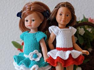 Вяжем платье  «Тропиканка»  для мини-паолки и крузелинг. Ярмарка Мастеров - ручная работа, handmade.