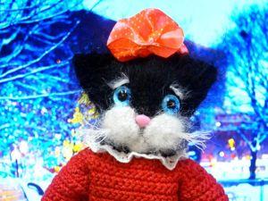 Котенок Маринка в детском садике. Ярмарка Мастеров - ручная работа, handmade.