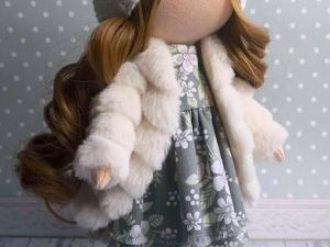 Шьем шубку для куколки. Ярмарка Мастеров - ручная работа, handmade.