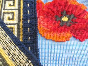 Строительная сетка вместо канвы, или Как уменьшить затраты на материалы в вышивке. Ярмарка Мастеров - ручная работа, handmade.