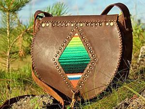 """Шьем бохо-сумочку """"Вигвам"""" с индейскими мотивами. Ярмарка Мастеров - ручная работа, handmade."""