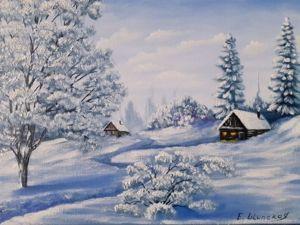 Зима. Ярмарка Мастеров - ручная работа, handmade.
