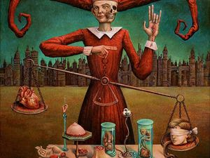 New Bosch: Worlds of German Artist Michael Hutter. Livemaster - handmade