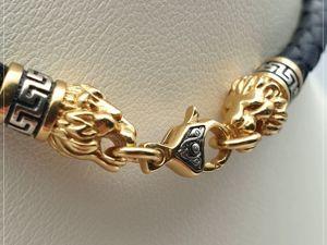 Кожаный чокер с Большой жемчужиной Таити «Коронованный лев» S925. Ярмарка Мастеров - ручная работа, handmade.