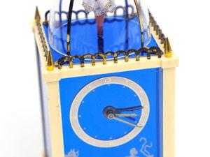 Немецкие Заводные Музыкальные Часы-Будильник с Балериной Механизм Швейцария THORENS Голубой Дунай. Ярмарка Мастеров - ручная работа, handmade.
