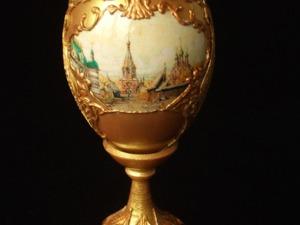 Декорирование пасхального яйца в русском стиле. Ярмарка Мастеров - ручная работа, handmade.
