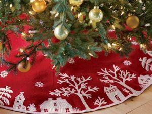 Наряжаем новогоднюю красавицу: юбка под ёлку. Ярмарка Мастеров - ручная работа, handmade.