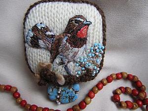 История о Птичках: делаем брошку. Ярмарка Мастеров - ручная работа, handmade.