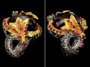 Скидка на кольцо с природным аметрином!. Ярмарка Мастеров - ручная работа, handmade.