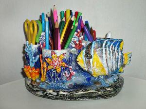 Видео мастер-класс: мастерим органайзер «Коралловый риф». Ярмарка Мастеров - ручная работа, handmade.
