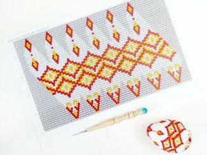 Как вязать из бисера яйца по схемам. Ярмарка Мастеров - ручная работа, handmade.