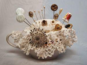 Игольница — маленькая подружка рукодельницы. Ярмарка Мастеров - ручная работа, handmade.