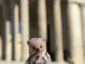 Французское путешествие Лавандового медведя. Ярмарка Мастеров - ручная работа, handmade.