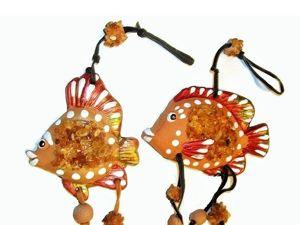 Рыбки в подарок для рыбок по гороскопу. Принимаю заказы. Ярмарка Мастеров - ручная работа, handmade.