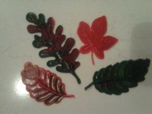 Мастерим листочки из жидкой пластики. Ярмарка Мастеров - ручная работа, handmade.