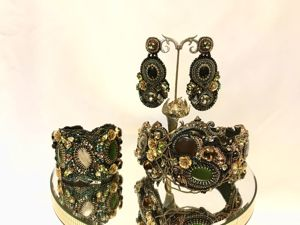 Комплект « Султанша». Ярмарка Мастеров - ручная работа, handmade.