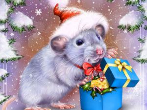 Акция только для постоянных покупателей! Мышка дарит подарки!. Ярмарка Мастеров - ручная работа, handmade.