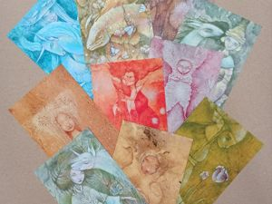 Новый набор открыток  «Эльфийский лес» !. Ярмарка Мастеров - ручная работа, handmade.