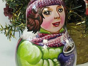 Рисуем вязаный шарф двойным мазком. Ярмарка Мастеров - ручная работа, handmade.