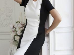 Аукцион на классическое Вязаное платье! Старт 2500 руб.!. Ярмарка Мастеров - ручная работа, handmade.