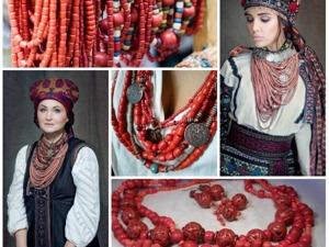 Традиционные украинские украшения. Пацьорки. Ярмарка Мастеров - ручная работа, handmade.