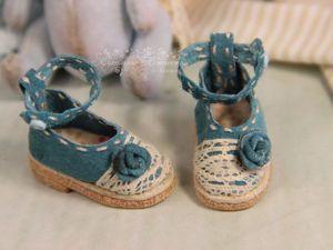 Делаем розочки из кожи для кукольных туфелек. Ярмарка Мастеров - ручная работа, handmade.