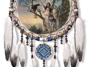 Ловцы снов коренных американцев. Ярмарка Мастеров - ручная работа, handmade.