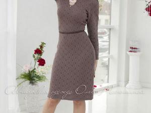 Аукцион на вязаное платье! Старт 2000 руб.!. Ярмарка Мастеров - ручная работа, handmade.