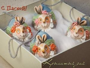 Делаем пасхальные яйца для праздничного интерьера. Ярмарка Мастеров - ручная работа, handmade.