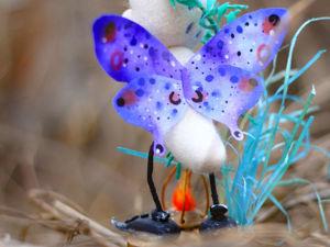 Легкий способ сделать симпатичные крылышки. Ярмарка Мастеров - ручная работа, handmade.