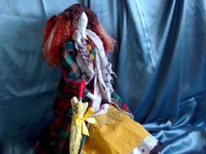Кукла Тильда в пальто. Ярмарка Мастеров - ручная работа, handmade.