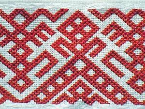 Традиционная вышивка: знакомство с пудожским крестом. Ярмарка Мастеров - ручная работа, handmade.
