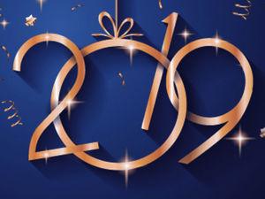 С наступающим Новым 2019 годом!. Ярмарка Мастеров - ручная работа, handmade.