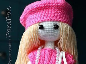 Мастер-класс: Вязаная куколка. Часть первая. Ярмарка Мастеров - ручная работа, handmade.