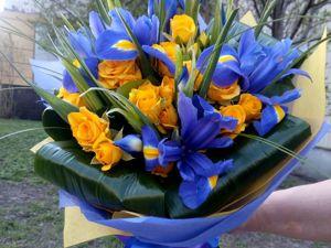 Букеты из свежих цветов на 1 сентября. Ярмарка Мастеров - ручная работа, handmade.