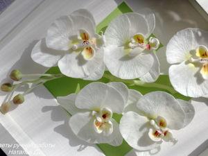 Аукцион на панно с орхидеями. Ярмарка Мастеров - ручная работа, handmade.
