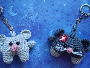Брелоки: мышка. Ярмарка Мастеров - ручная работа, handmade.