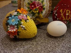 Вяжем пасхальное яйцо крючком. Ярмарка Мастеров - ручная работа, handmade.