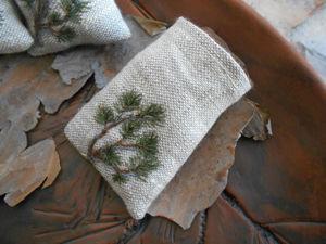 Хвойные мешочки-аромасаше. Ярмарка Мастеров - ручная работа, handmade.