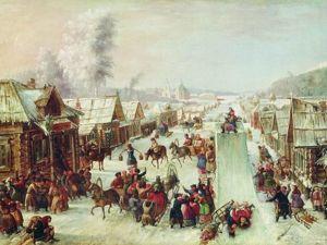 Ух, погуляем! Проводы зимы в картинах великих художников. Ярмарка Мастеров - ручная работа, handmade.