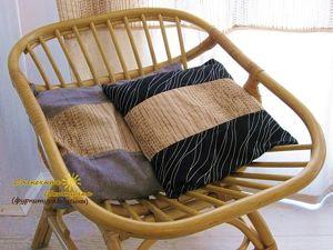 Декоративные подушки (...из того, что было). Ярмарка Мастеров - ручная работа, handmade.